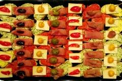 Nr. 64 - Kanapees mit Wurst- und Käsespezialitäten